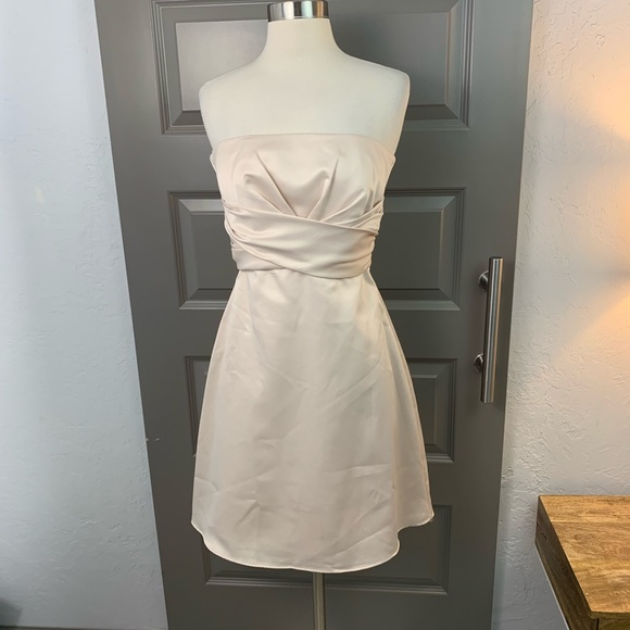 White House Black Market Dresses & Skirts - White House Black Market Satin Cocktail Dress